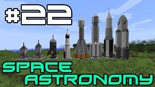 Minecraft Space Astronomy - Applied Energistics Storage! #22