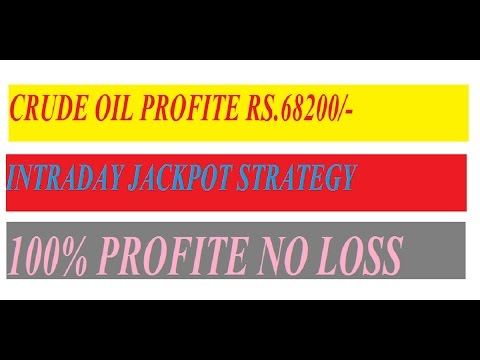 MCX CRUDE OIL INTRADAY TRADING STRATEGY BAHUBALI 2 STRATEGY IN HINDI JACPOT