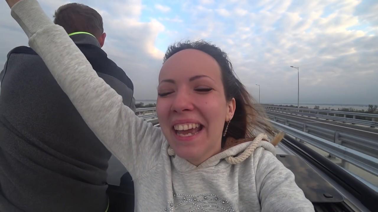 Первый украинец на Крымском мосту