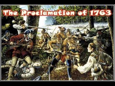 History Brief: The Proclamation of 1763