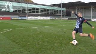 FANTASTIC FREE-KICKS FROM LUKE SHAW: Congratulations on his 1st England Seniors call up