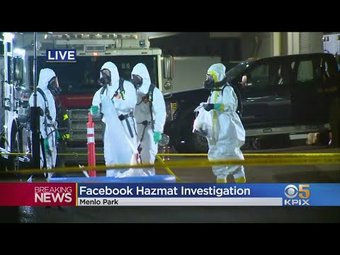 Facebook Hazmat Investigation In Menlo Park Runs Deep Into The Night