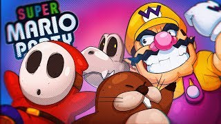 HOW DO YOU PLAY THIS MINI GAME?! - Super Mario Party Online!