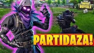 PARTY WITH THE NEW SKIN *CUERVO* - Fortnite Battle Royale