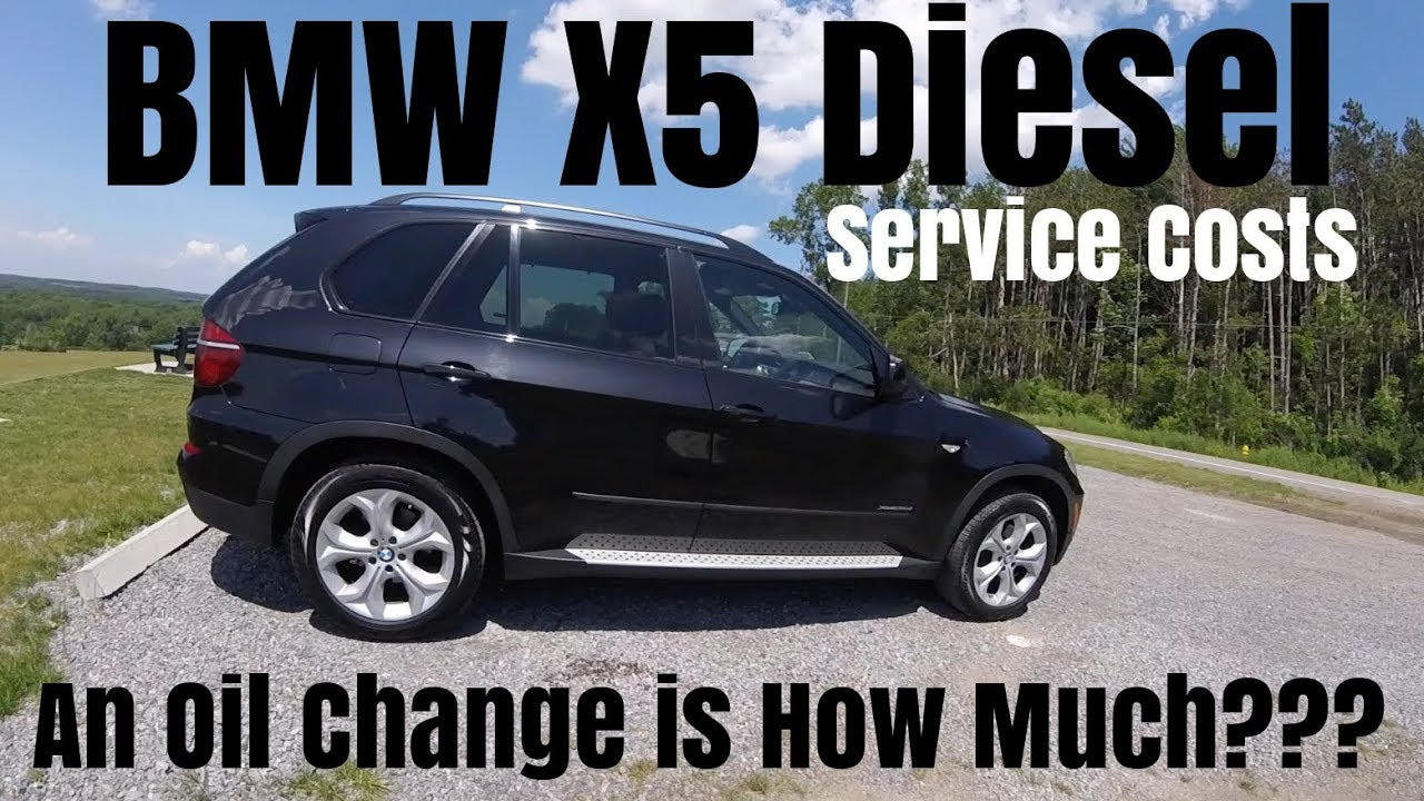 How Much Is An Oil Change >> Bmw X5 Diesel An Oil Change Costs How Much