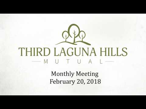 Third Meeting February 20, 2018