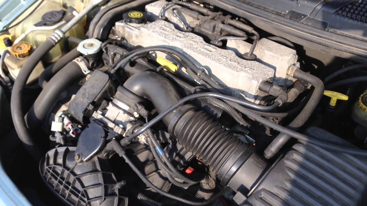 E3DG134 2003 Dodge Stratus 24 Engine Test  YouTube