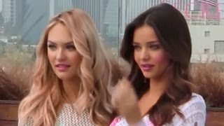 Victoria's Secret Angel's SWIMSUIT Ready Secrets! Miranda Kerr & Candice Swanepoel!