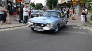 Gordon-Keeble 50th Anniversary celebrations in Eastleigh 29 June 2014
