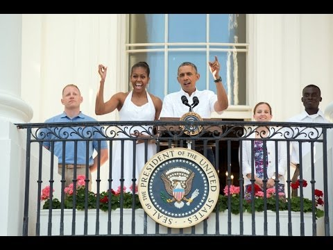 The President Delivers Remarks at Independence Day Celebration