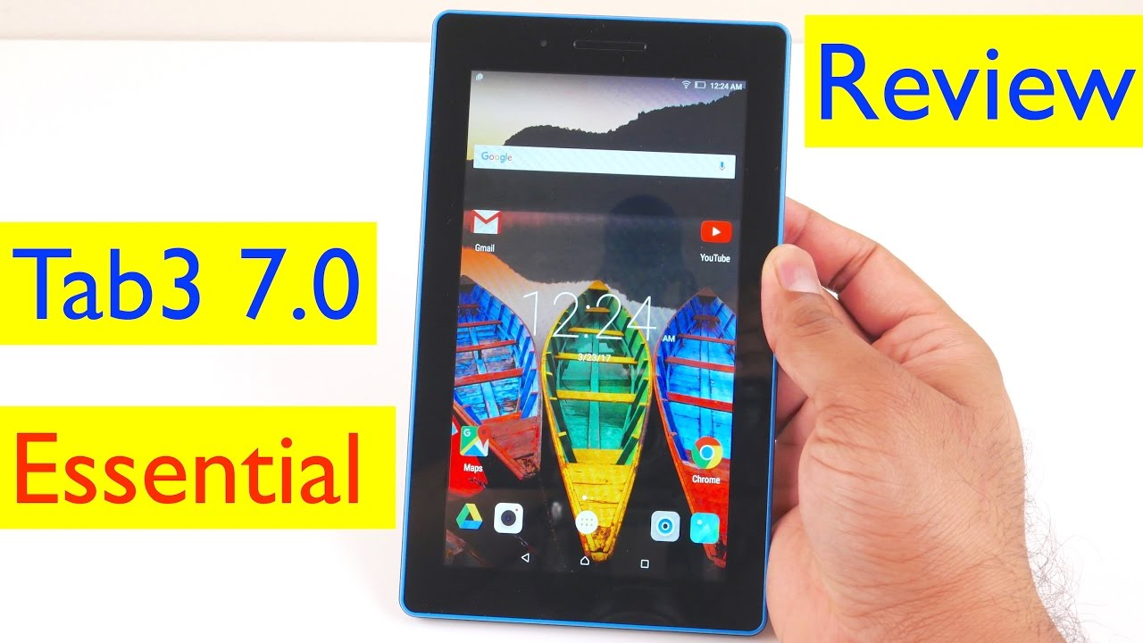 Lenovo Tab 3 7 Essential Review And Gaming Test Camera