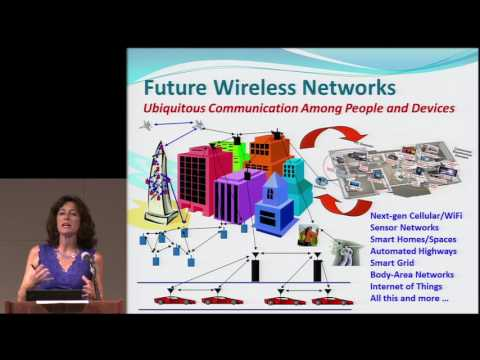 Andrea Goldsmith - To Infinity and Beyond: New Frontiers in Wireless Information Theory