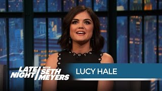 Even Lucy Hale Is Shocked By Pretty Little Liars Plot Twists - Late Night with Seth Meyers