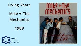 Living Years - Mike And The Mechanics 1988 HQ Lyrics MusiClypz