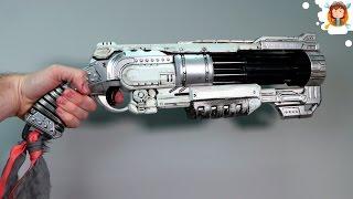 Pintando e Estilizando Armas de Brinquedo - (Nerf Doomlands)