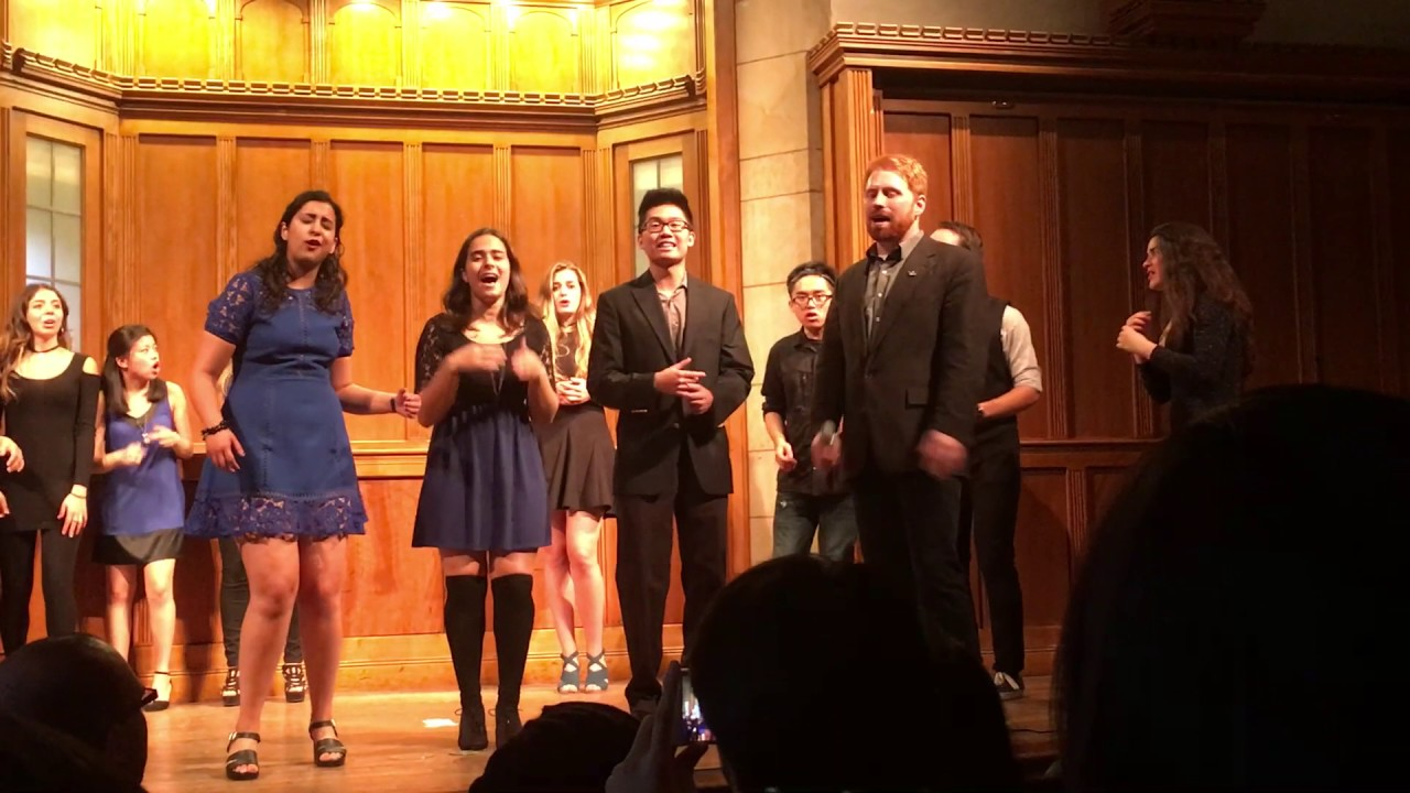 """Yale Out of the Blue """"Nights"""" Parents Weekend 2016"""