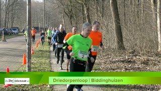 Alle lopers in beeld: Driedorpenloop van AV Flevo Delta in Biddinghuizen