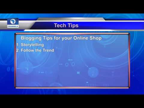 Tech Trends Blogging Tips For Your Online Shop