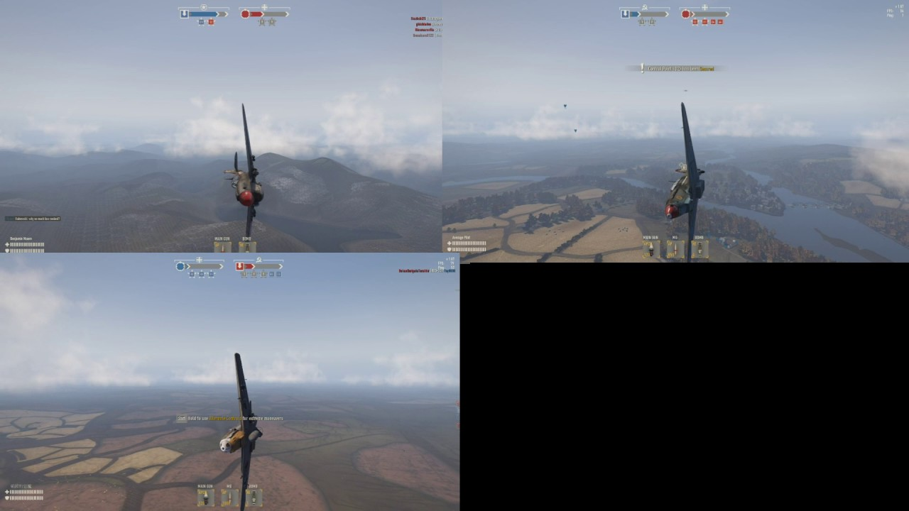 Heroes and Generals: Medium Fighter Maneuverability Test 1 - YouTube
