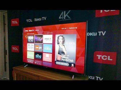 c3b9c5d8cb1 TCL L55P1US LED TV - 55-Inch 4K Ultra HD Smart