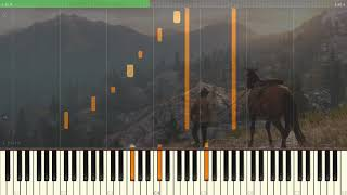 Red Dead Redemption 2 OST - That's the Way it is (Piano Tutorial + Sheets) [Synthesia]