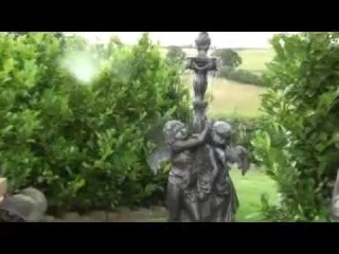 Antique Garden Reclaimed Bronze Water Fountain / Feature - UKAA