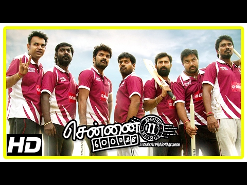 Chennai 600028 II Movie Scenes | Jai and friends win the match | Shiva | Ilavarasu