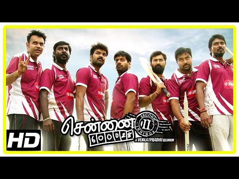 Chennai 600028 II Movie Scenes | Jai and friends win the match | Shiva | Ilavarasu