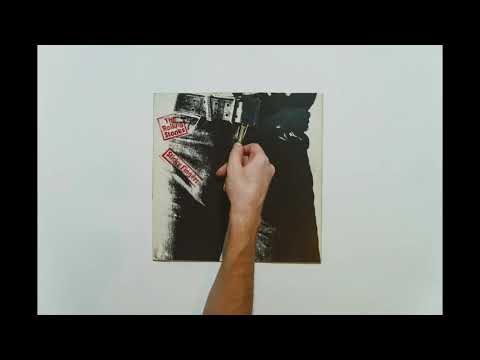 The Rolling Stones - Sticky Fingers (1971) LP