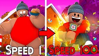 I ATE VERY SWEET and I GOT FAST-Roblox Candy Simulator
