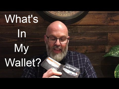 What's In My Wallet March 2019