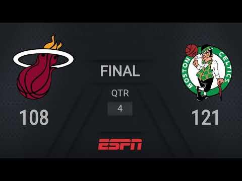 Heat @ Celtics | NBA on ESPN Live Scoreboard | #WholeNewGame