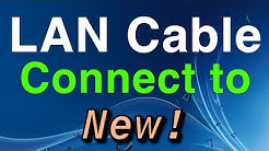PS4 How to use and Connect to LAN Cable NEW!