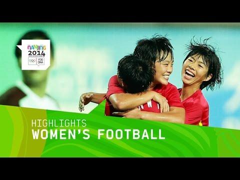 China Win Women's Football Gold - Highlights | Nanjing 2014 Youth Olympic Games