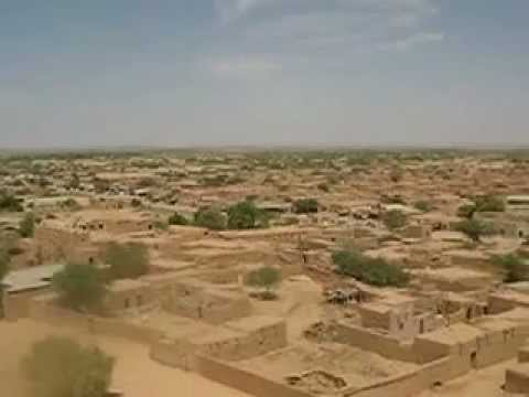 Agadez, view from mosque tower, Niger