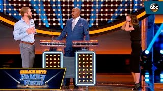 Shawn Hit the Buzzer Before Kaitlyn! - Celebrity Family Feud
