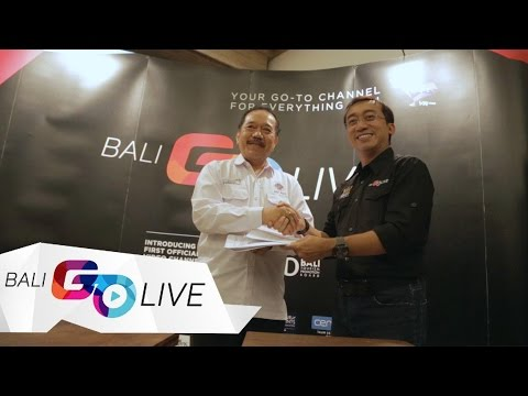 BALI GO LIVE IN PARTNERSHIP WITH BALI TOURISM PROMOTION BOARD