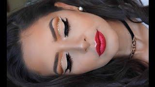 Pliegue Marcado Con Brillo | Labios Metalicos | Yanira Giselle