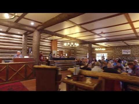 Roosevelt Lodge Lobby Walking Tour