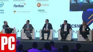 5G Deployment Panel at Mobile World Congress Shanghai