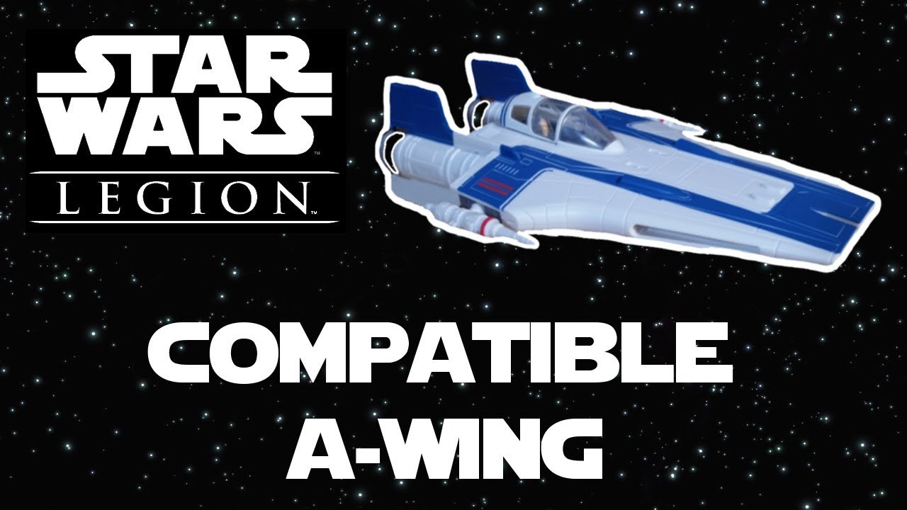 Revell Resistance A Wing Build Compatible Scale For Star Wars Legion
