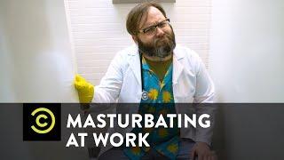 Masturbating At Work - Science?