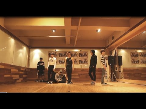 INFINITE  Back  Dance Practice