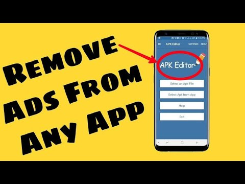How to Remove Ads in any App With [APK EDITOR PRO]