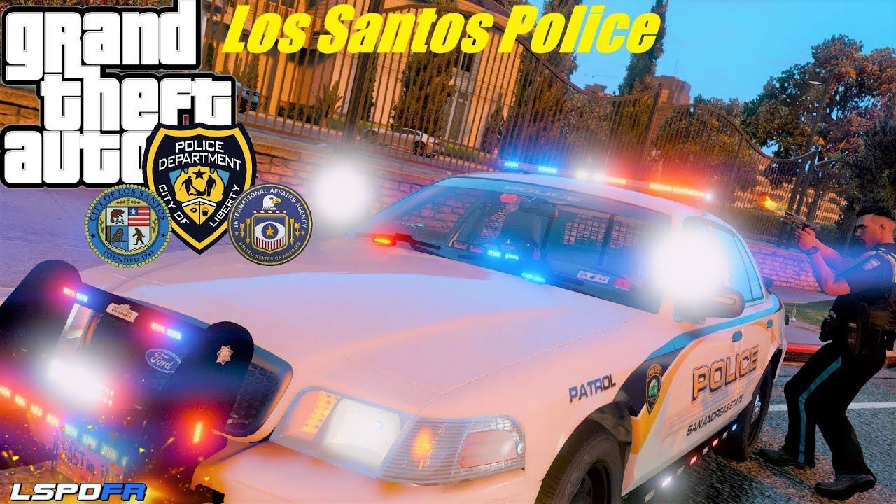 New Police Patrol 1st Person View City Has Gone Wild Robberies And High speed Chases GTA 5 LSPDFR#72