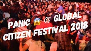 Panic erupt at Global Citizen Festival 2018 - Central Park