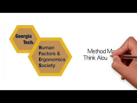 Method Manual: Think Aloud Protocol