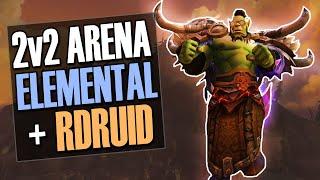 🔥LASSO + CLONE = Ded, Elemental Shaman PvP 2v2 Arena