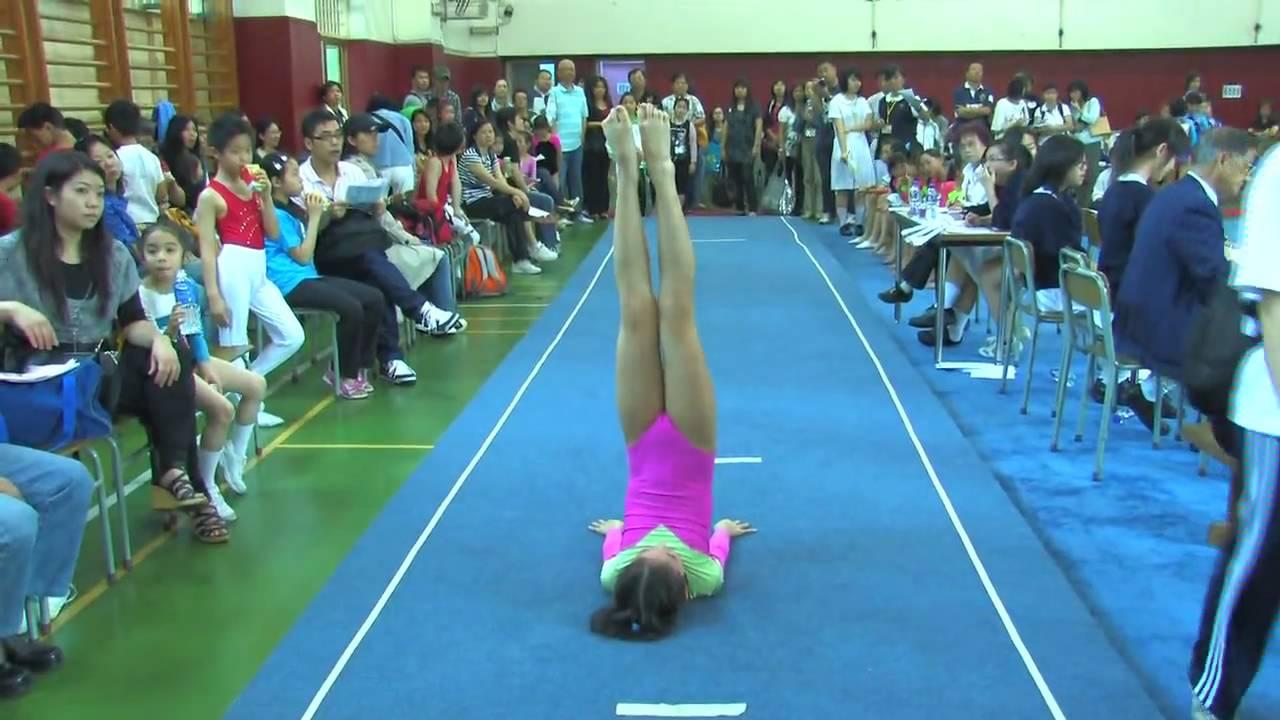 全港小學體操邀請賽 女子自由體操 43