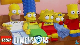 LEGO Dimensions : The Simpsons (Gameplay PS4/Xbox One/Wii U 1080p HD)